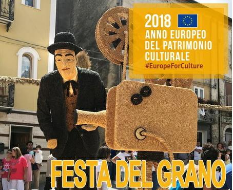 Patrimonio culturale 2018: riconoscimento per la Festa del Grano